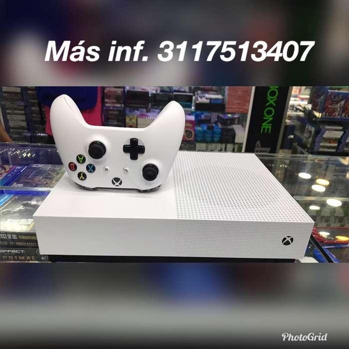 Consola Xbox One S 1 Tera Unico Dueño