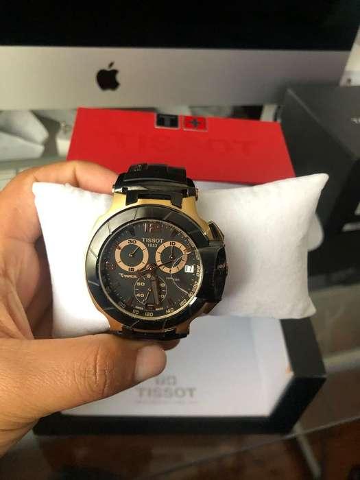 Reloj Tissot Trace Dorado Original Suizo
