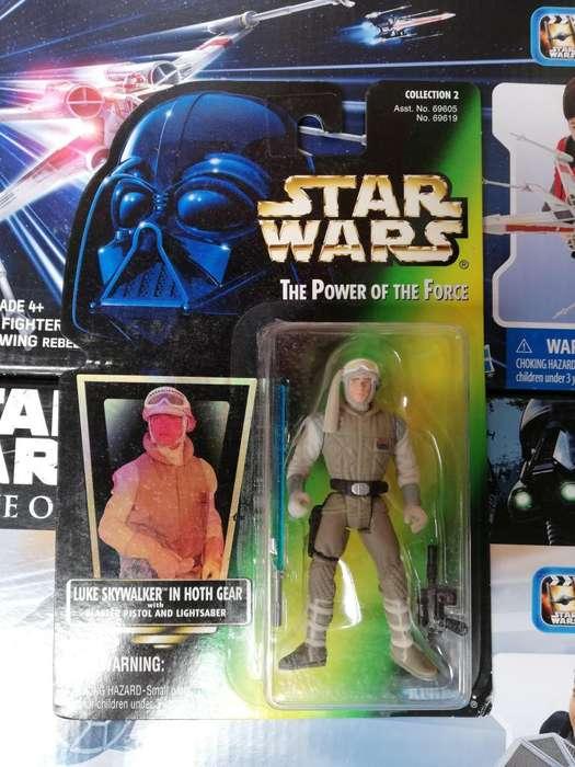 Star Wars The Power Of The Force - luke skywalker in hoth gear - Figura Kenner