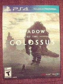Vendo o cambio Shadow of colossus