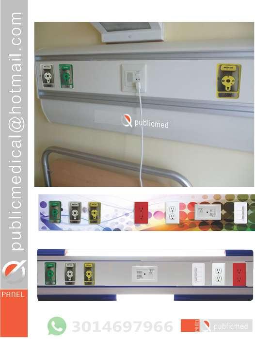 CONSOLA, ENCAMADOS HORIZONTAL PARA GASES MEDICINALES 3014697966