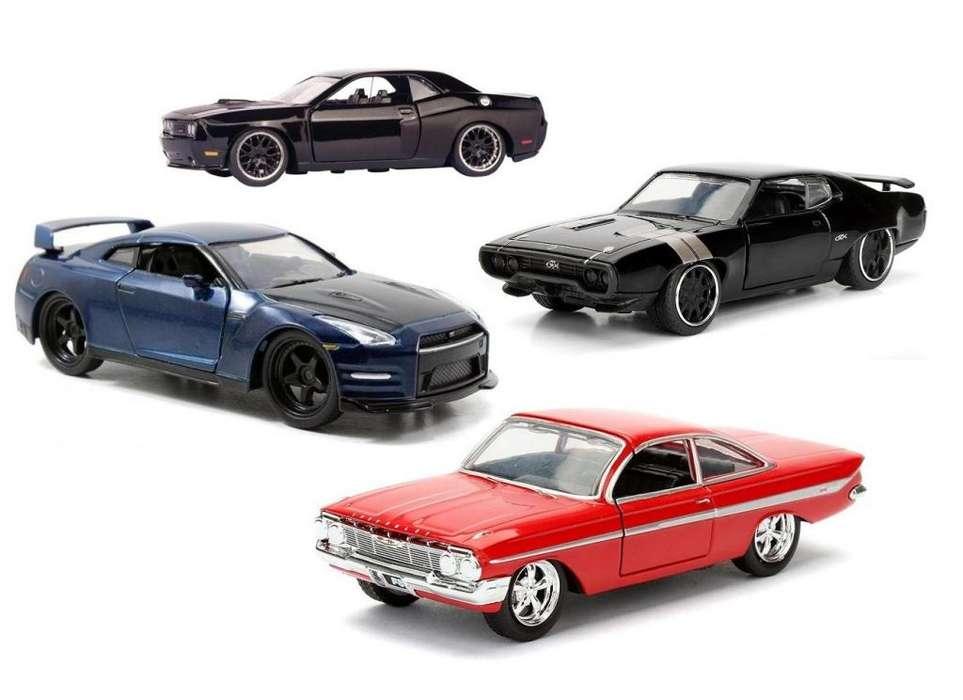 Autos Rapido Y Furioso Escala 1/32 Impala Nissan Plymouth Dodge