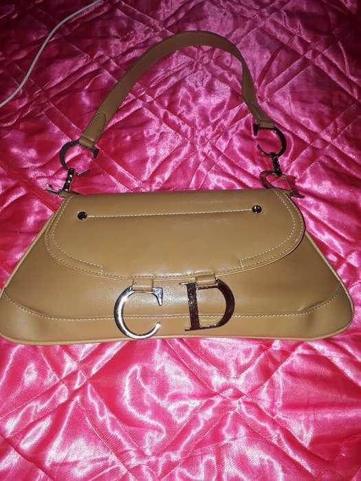 Cartera Vintage de Cuero Christian Dior