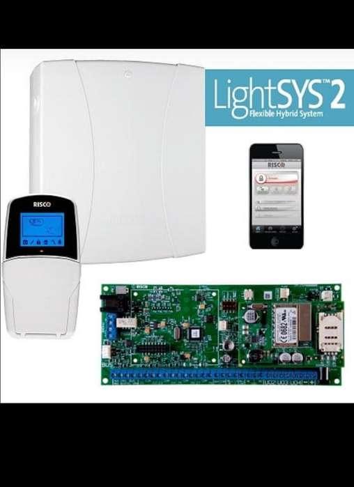 Alarma Risco Lightsys 2 con Comunicador