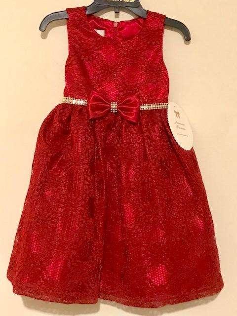 Elegante Vestido nuevo American Princess Talla: 2T Traído de USA