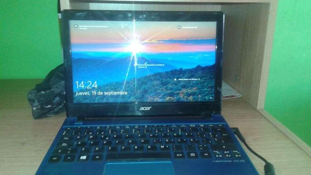 Vendo Dos Portatiles Acer One Aspire color azul y Dell Inspiron Mini Para Repuestos Funcionales 100%