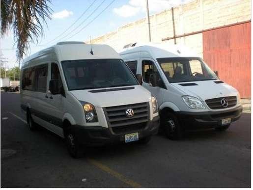 Camionetas con Chofer para 20 personas en Renta, Cotizaciones sin Compro