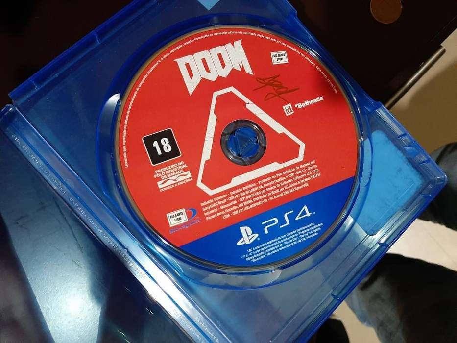 Doom Ps4 Full sin Caja