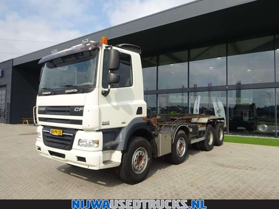 DAF CF 85 410 8X4 HTS Kabelsysteem 30 T - To be Imported