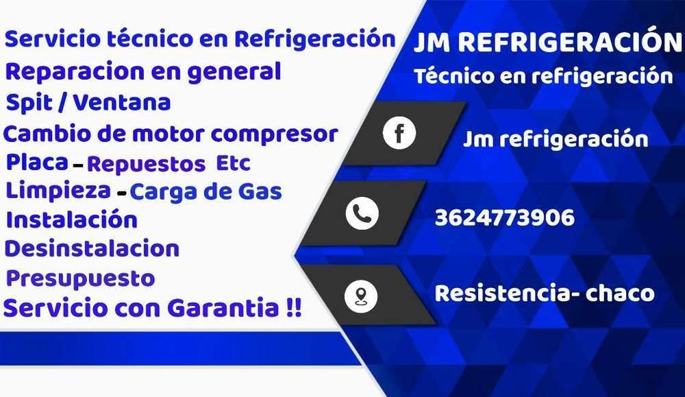 Técnico en Refrigeración en General