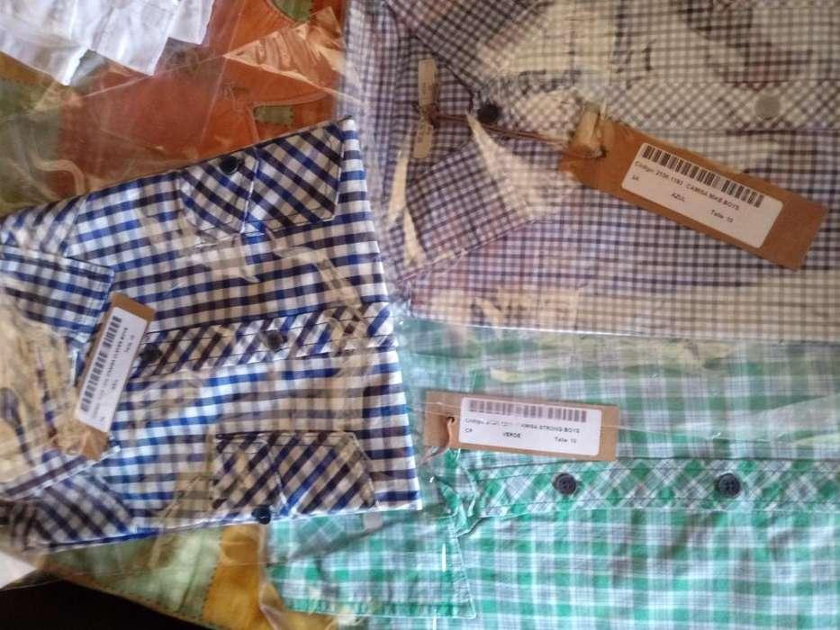 Camisas ,musculosas, remeras Wanama