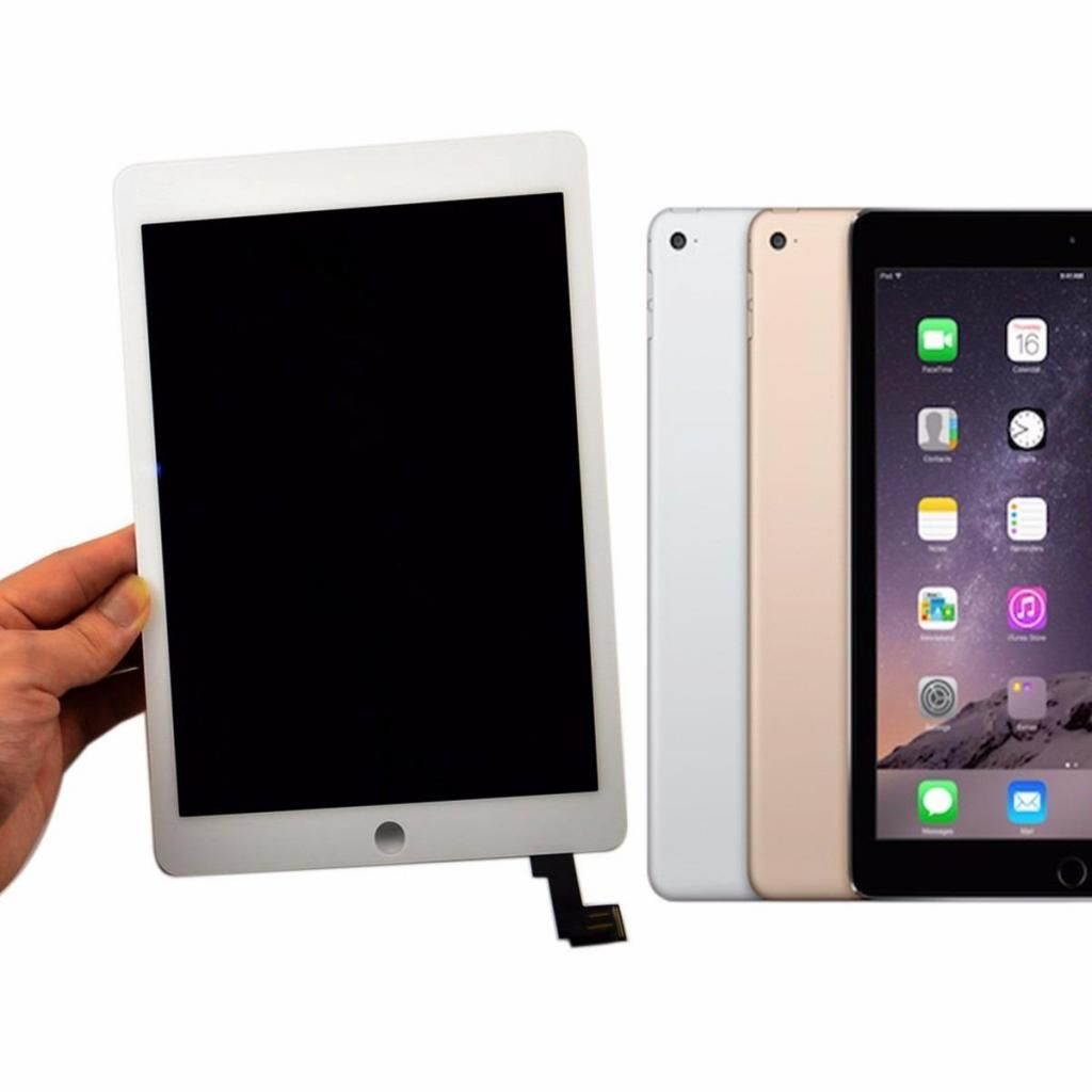 Display Lcd Pantalla Ipad Air 2 Completa Orig Apple Instalada