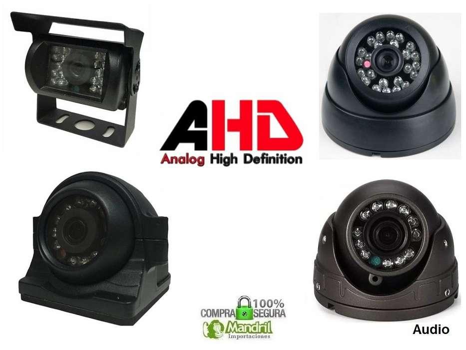 Camara Seguridad Vehiculos DVR 4 Canales Grabador AHD SD PAL NTSC