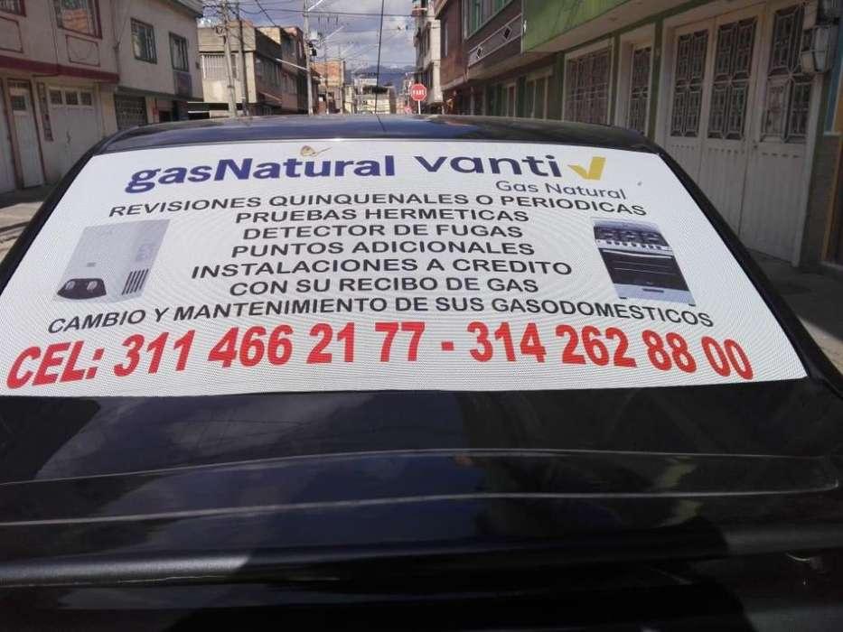 Servicio de gasNatural - Vanti