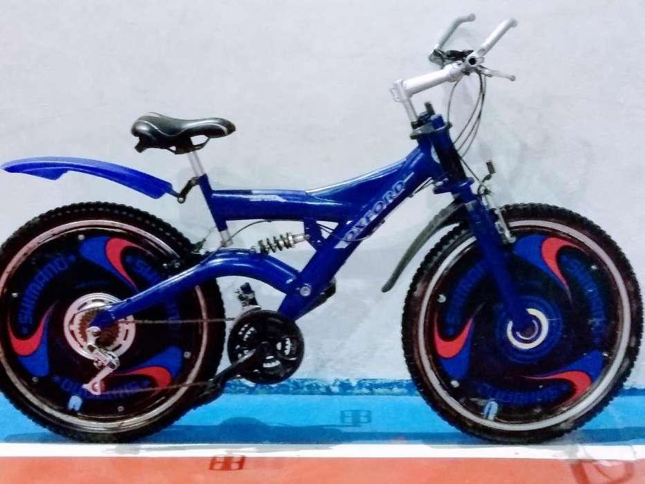 Bicicleta Amortiguación Doble Aro # 26