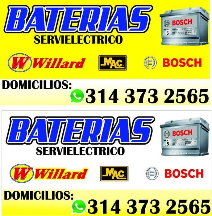 Batería para Carros