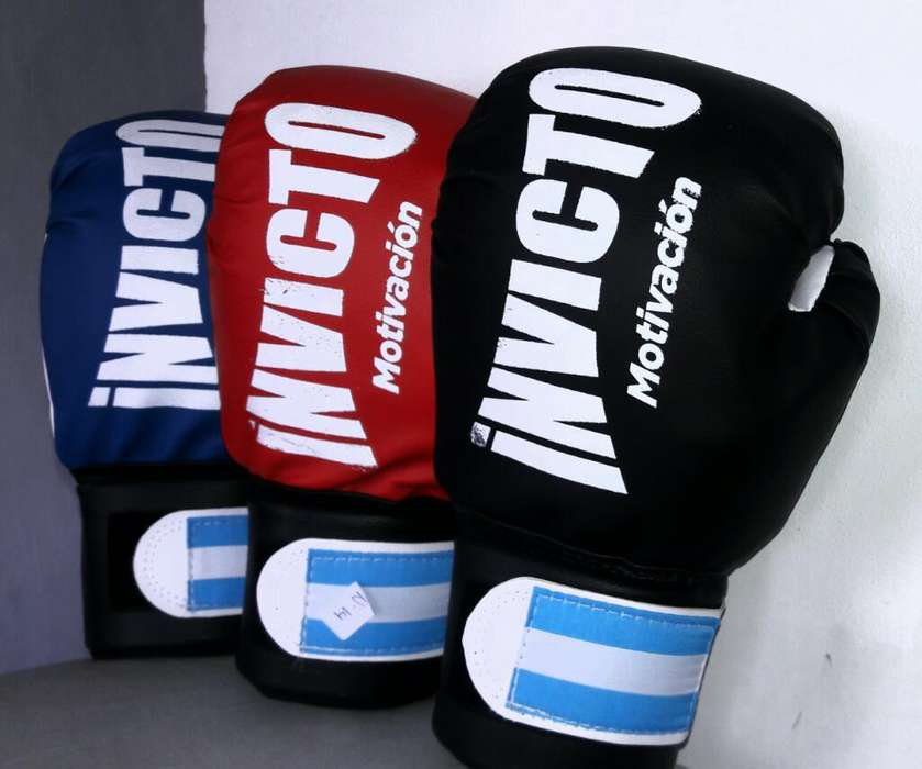 Guantes Invictos. 10 12 14 Oz