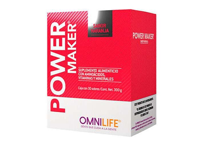 Power Maker Omnilife Caja X30 Sobres