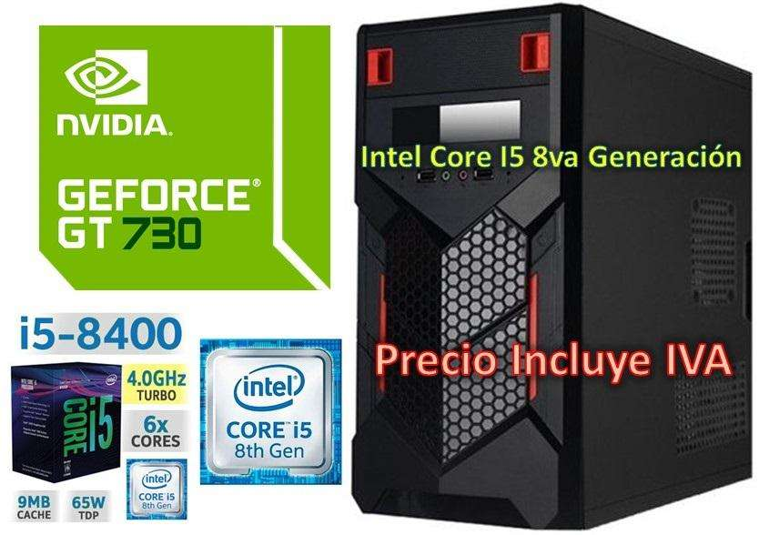 Computadora Cpu Intel Core I5 8va 1tb 4gb GT730 4GB I7 PRECIO INCLUYE IVA ENTREGA A DOMICILIO