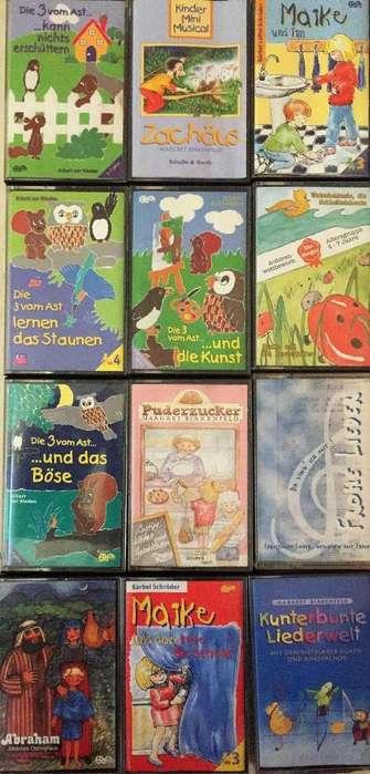 Casetes. Historias y canciones en alemán para niños