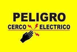 Todo en Cercos Eléctricos Instalaciones cel 3219021610