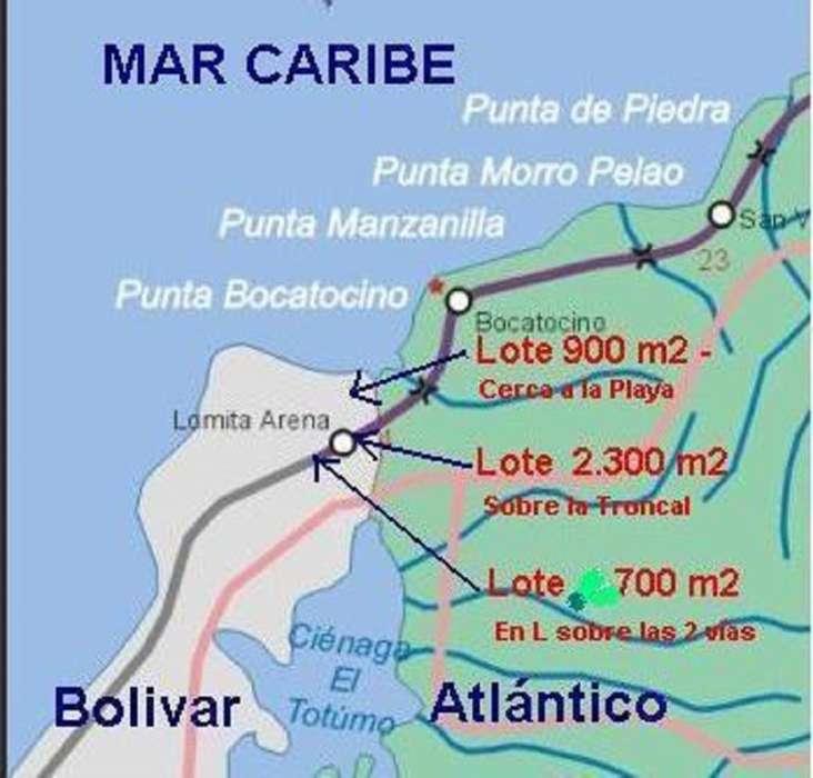 Cod. VBFNC-10057 Lote En Venta En Cartagena Cartagena
