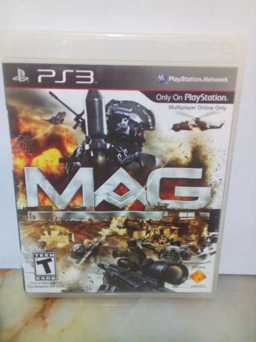 MAG Play Station 3 PS3 Juego Shooter Insertcoin