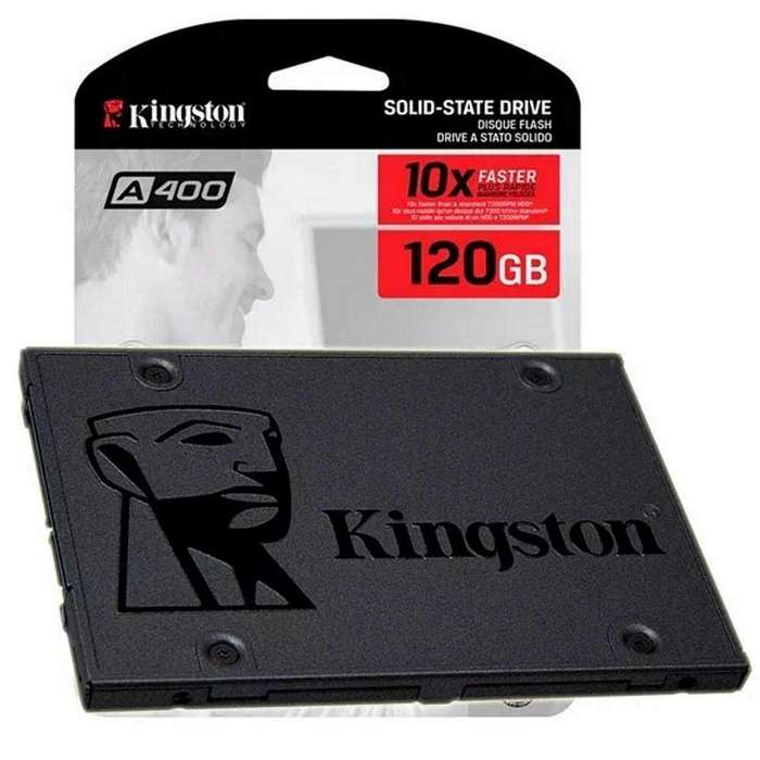 Disco Duro De Estado Solido SSD 120 GB Kingston Pc o Laptop