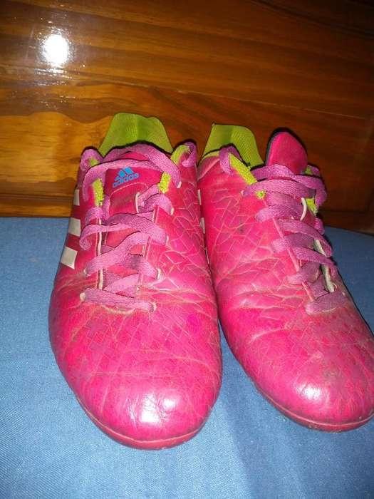 Botines Adidas Originales Fuxia