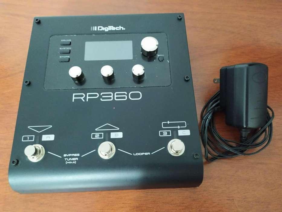 PEDALERA DIGITECH RP360 EXCELENTE ESTADO