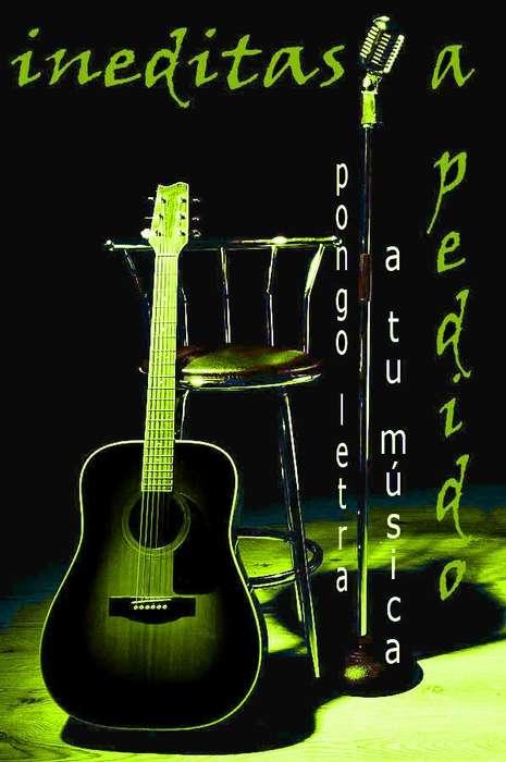 CLASES DE CANTO ...hago letra para tu música .. !