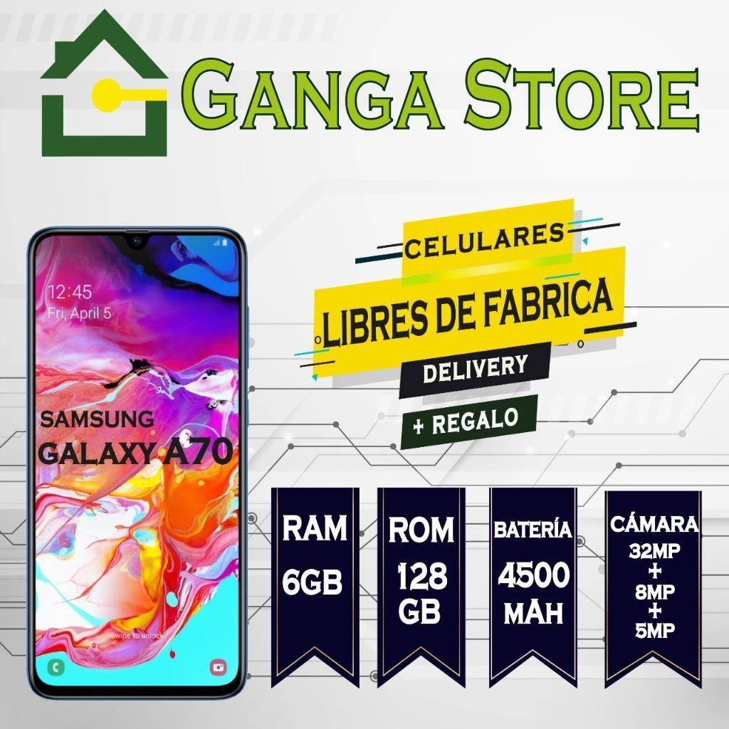 Samsung A70 Libre de Fabrica Tienda