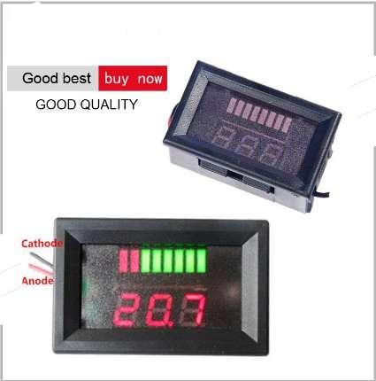 Voltimetro Digital Monitor Indicador De Voltaje 12 Voltios DC.