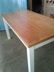 Mesa de comedor rectangular paraíso