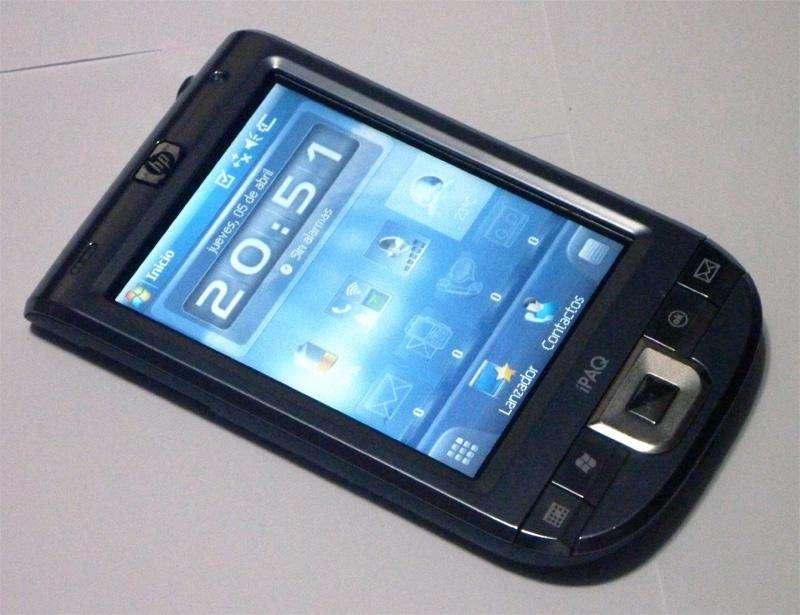 Agenda HP iPaq 116 con cargador, operativo. Palm PDA Pocket 110 111