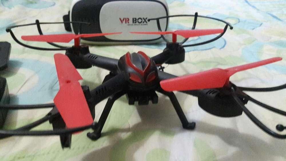Drone Cámara Wifi Helic Max Vr Box