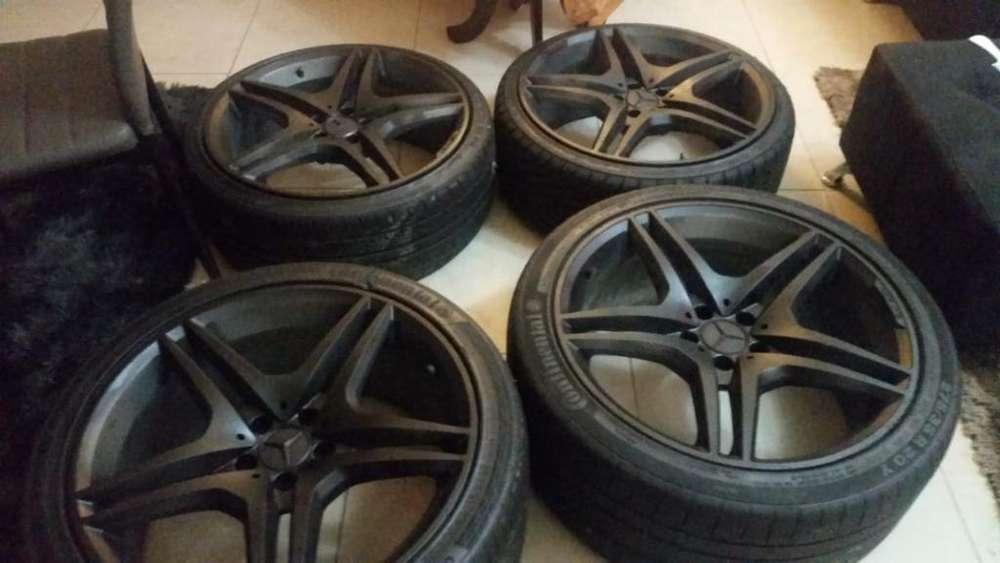 Aros con Llantas 20 Mercedes Amg Black