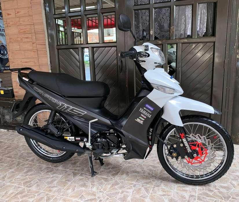 Yamaha Cripton Modelo 2017 Al Dia