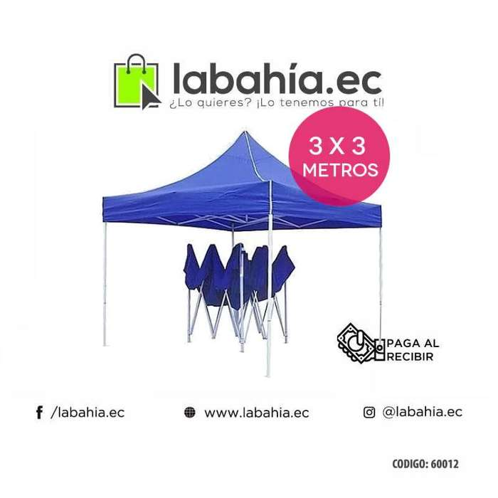 Carpas plegables 3x3 para patio o auto
