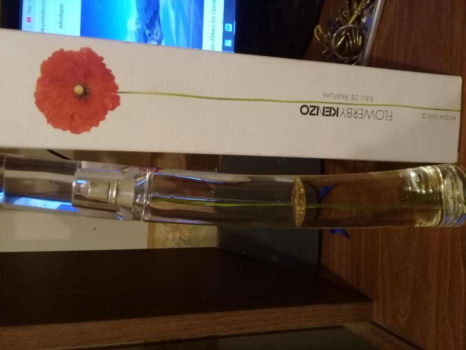 Perfume original flower by kenzo 100 mm usado