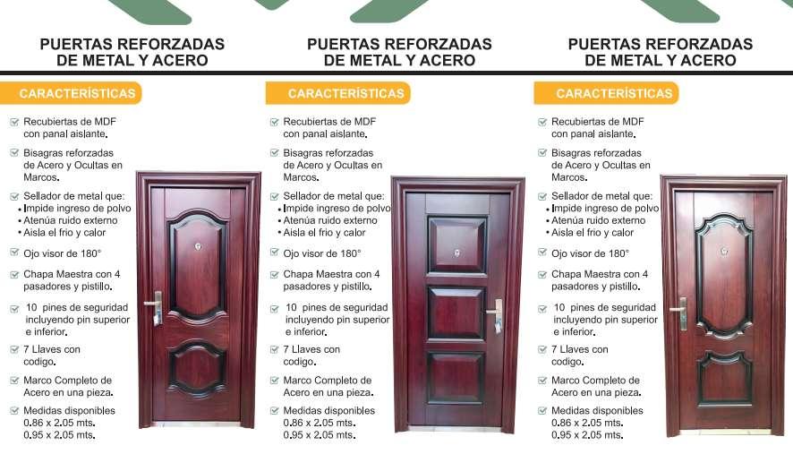 Puertas Metálicas Para Casas O Departamentos