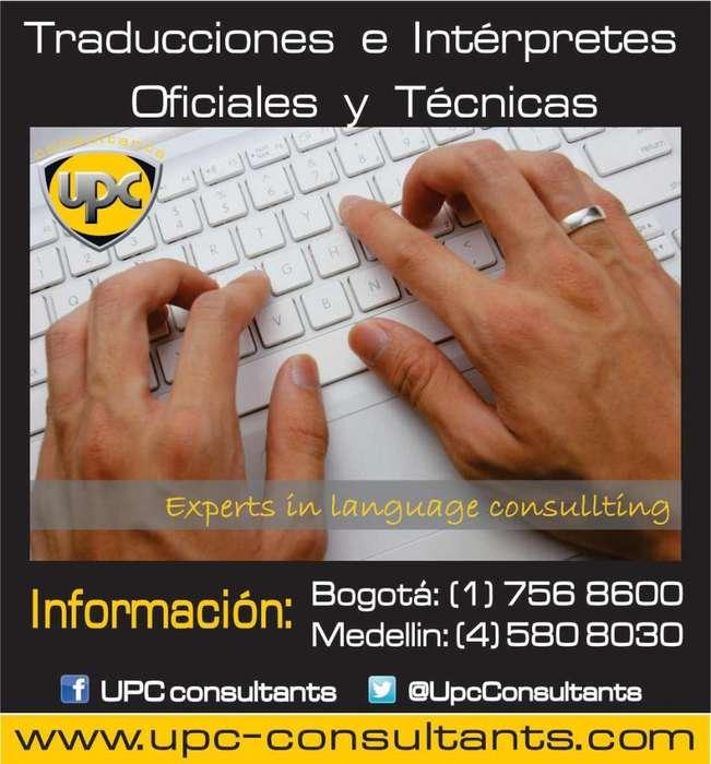 *TRADUCCIONES OFICIALES/TÉCNICAS DE DOCUMENTOS/ TEXTOS, NOTAS, DIPLOMAS, REGISTROS, HISTORIAS CLÍNICAS Y ..7568600