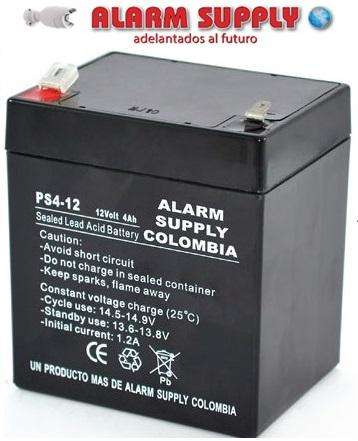 BATERIA RECARGABLE 12V 4AMP ALARM SUPPLY