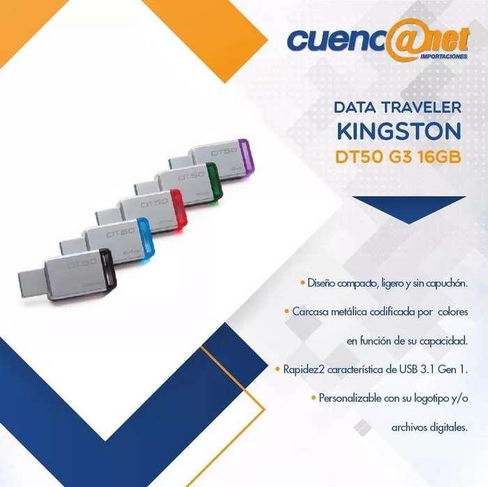 Data Travel Usb Dt50 16gb Kingston Pen Drive