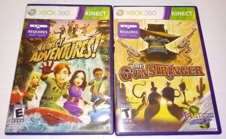 Juegos Originales para Kinect Xbox 360, los 2 x 25