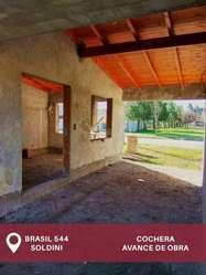 CASA EN SOLDINI - DOS DORMITORIOS A ESTRENAR // LLAVE EN MANO