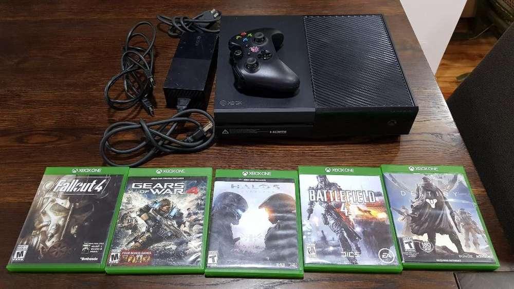 Xbox One con 5 Juegos