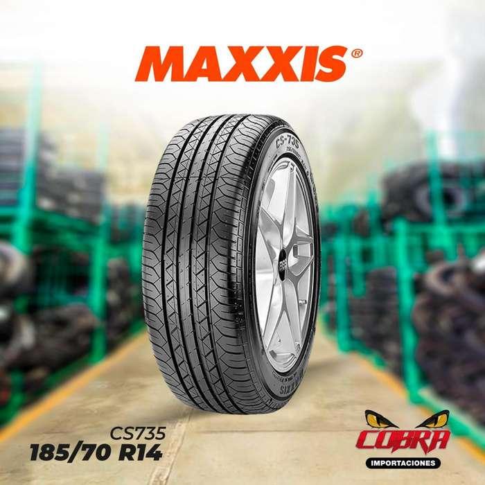 <strong>llantas</strong> 185/70 R14 MAXXIS CS735