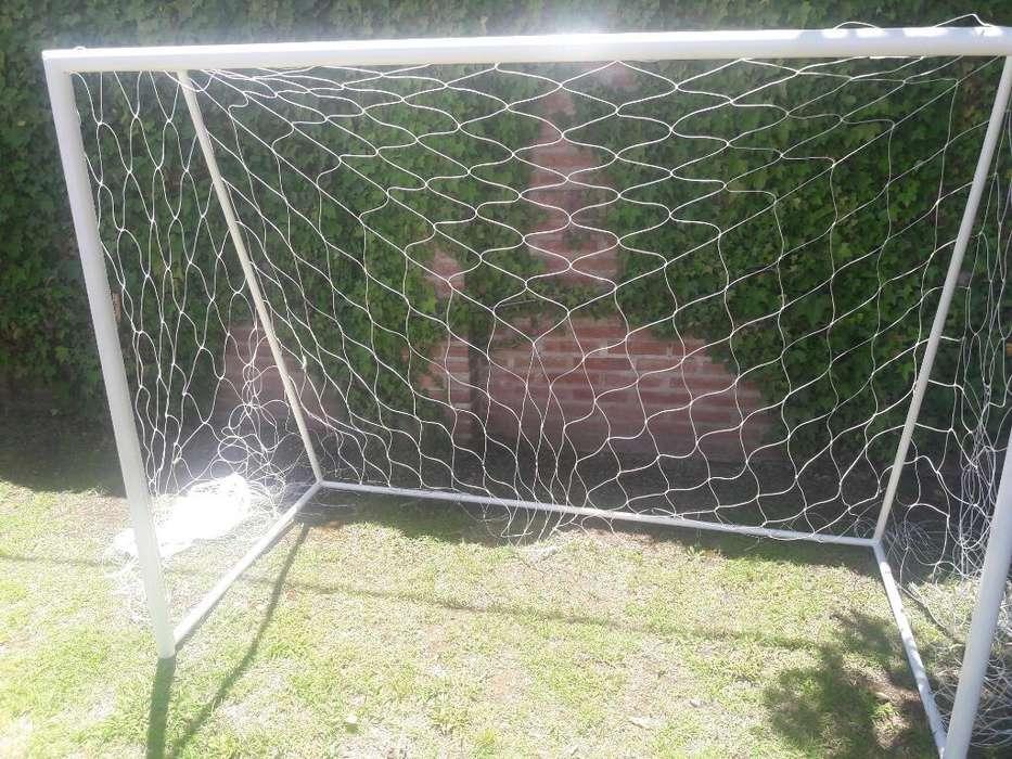 Arco de Futbol 2mts X 1.50mts con Red