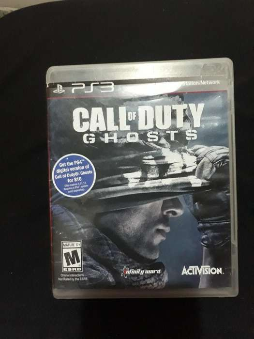 Se Vende !! Call Of Duty Ghosts